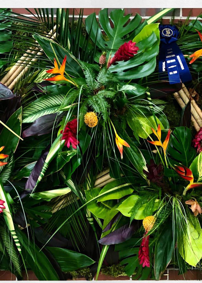 Bristol Aggie Floral Instagram Print