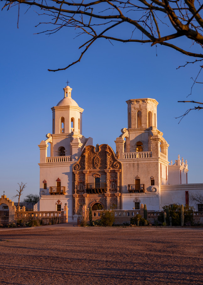 DP637 San Xavier del Bac Sunrise