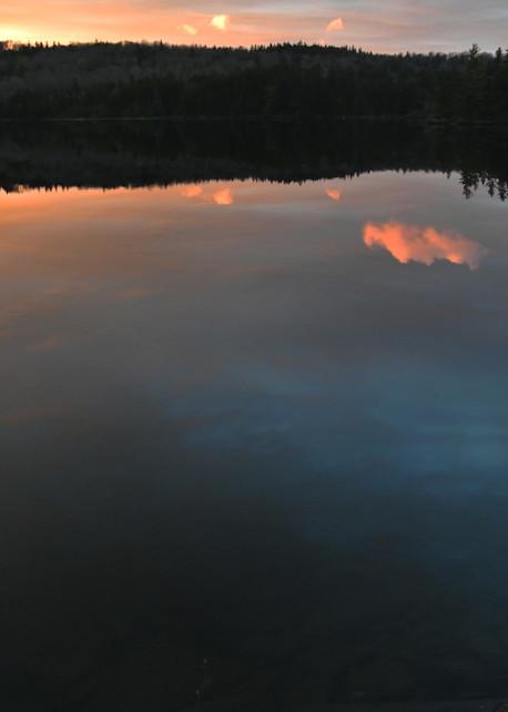 Jackman Fall Sunset Photo Print