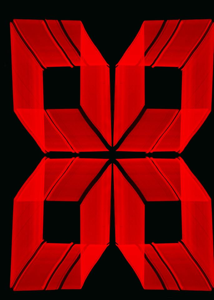 Berkeley Neon Light Painting In A Pattern Photography Art | David Louis Klein