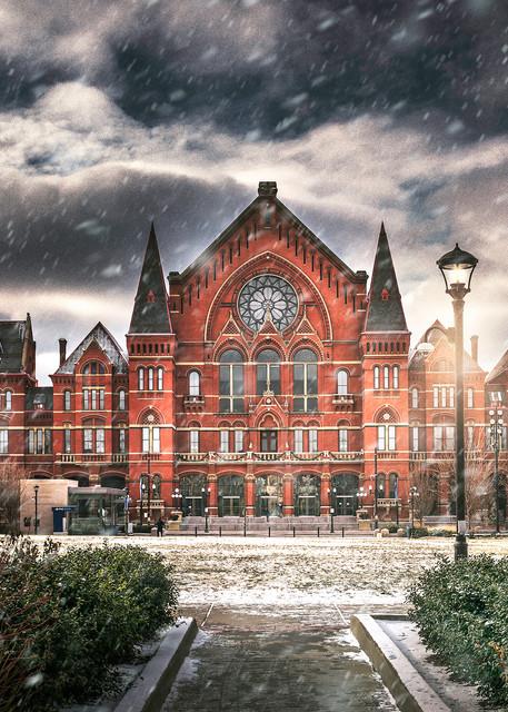 Music Hall Winter Photography Art   Studio 221 Photography