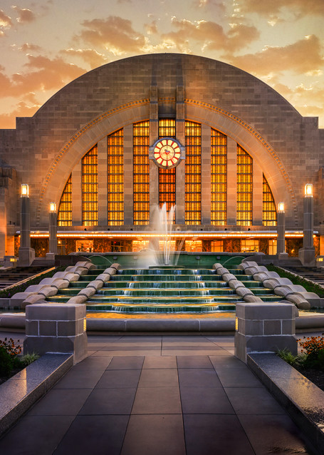 Union Terminal Sunset Photography Art | Studio 221 Photography