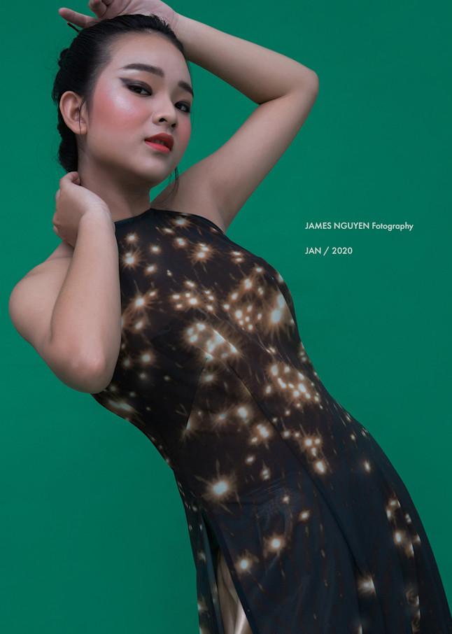 Sf Bay Lights Ao Dai Photography Art | David Louis Klein