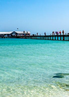 Anna Maria City Pier Photography Art | jimhooverphoto