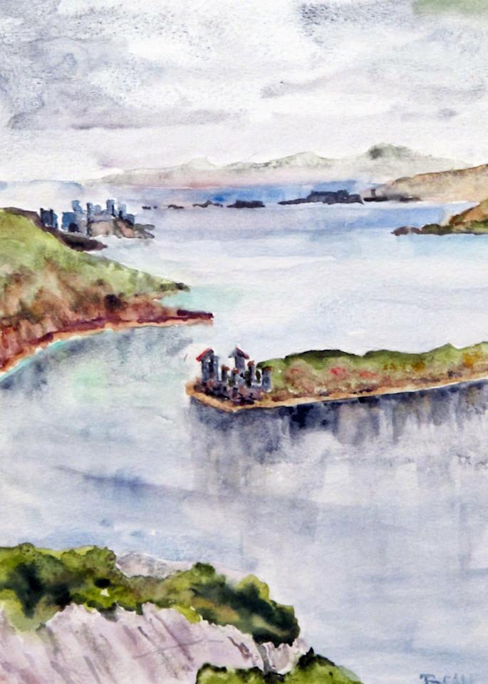 Inishbofin Ruins Art | David Beale