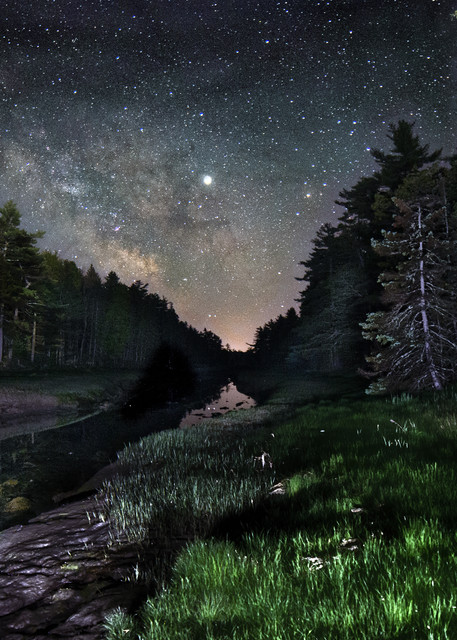 Carrying Place Milky Way Photography Art   Monteux Gallery