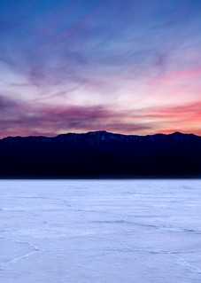 Badwater Sunset Panorama 3:1