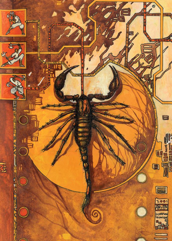 Scorpion Art | artemart