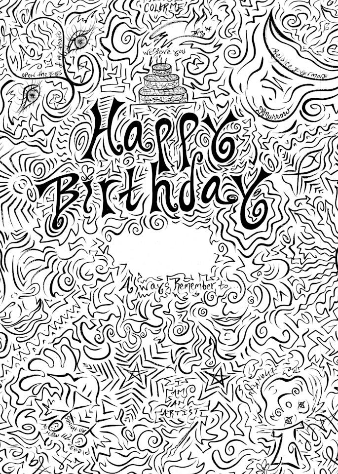 Happy Birthday Art | COLORME Art Spa