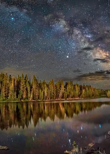 Night Reflections-Cove Lake