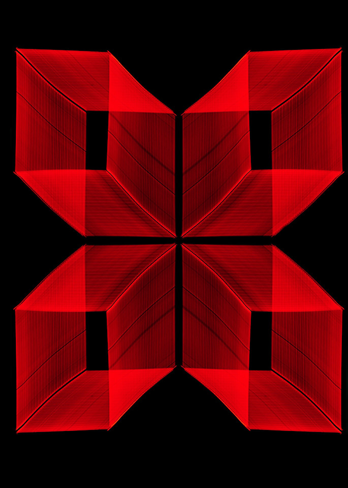 San Jose Neon Light Painting In A Pattern 2 Photography Art   David Louis Klein