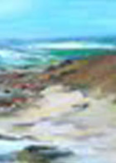 Crashing Waves, From an Original Oil Painting