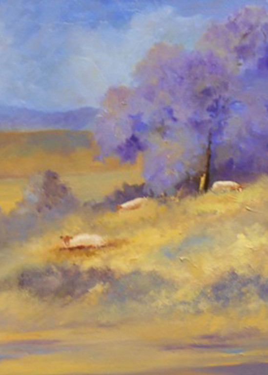 Grazing, From an Original Oil Painting