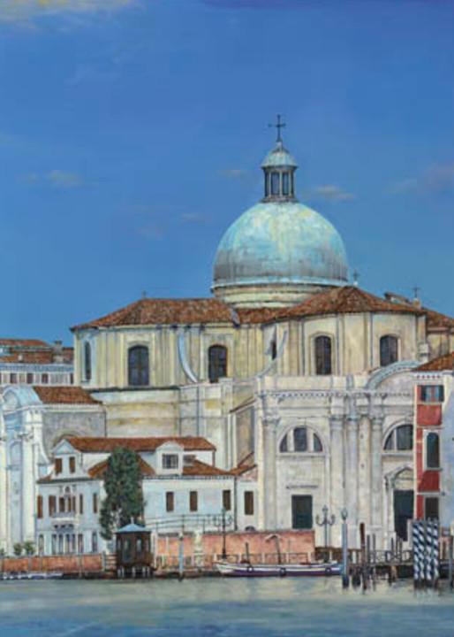 Venice painting by Holly Schapker.