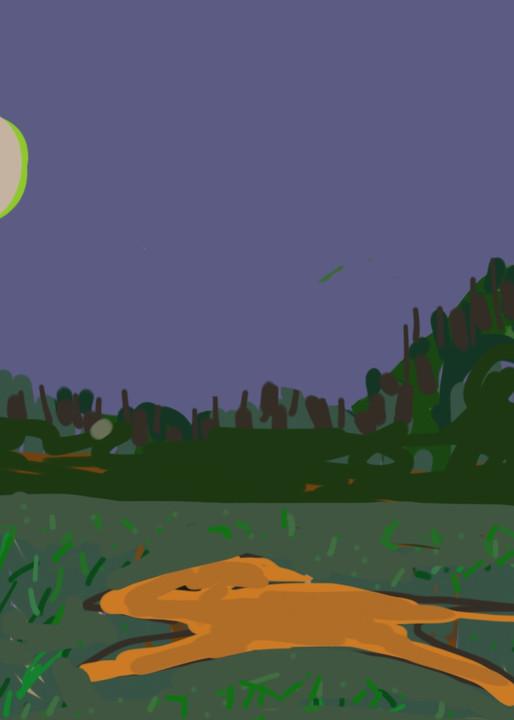 Night Runner Art | stephengerstman