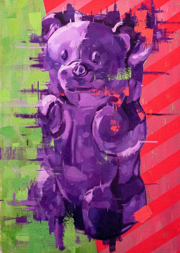Gummy Bear Red Green Art | Matt Pierson Artworks