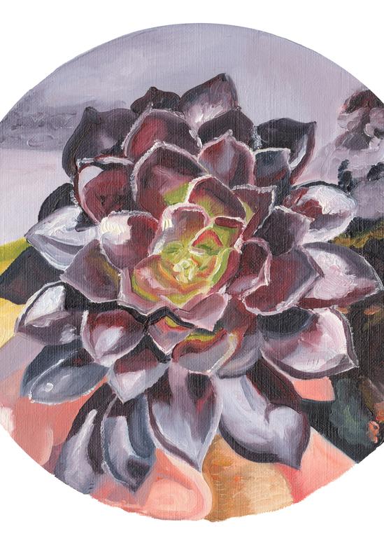 I Trust   Oil Painting
