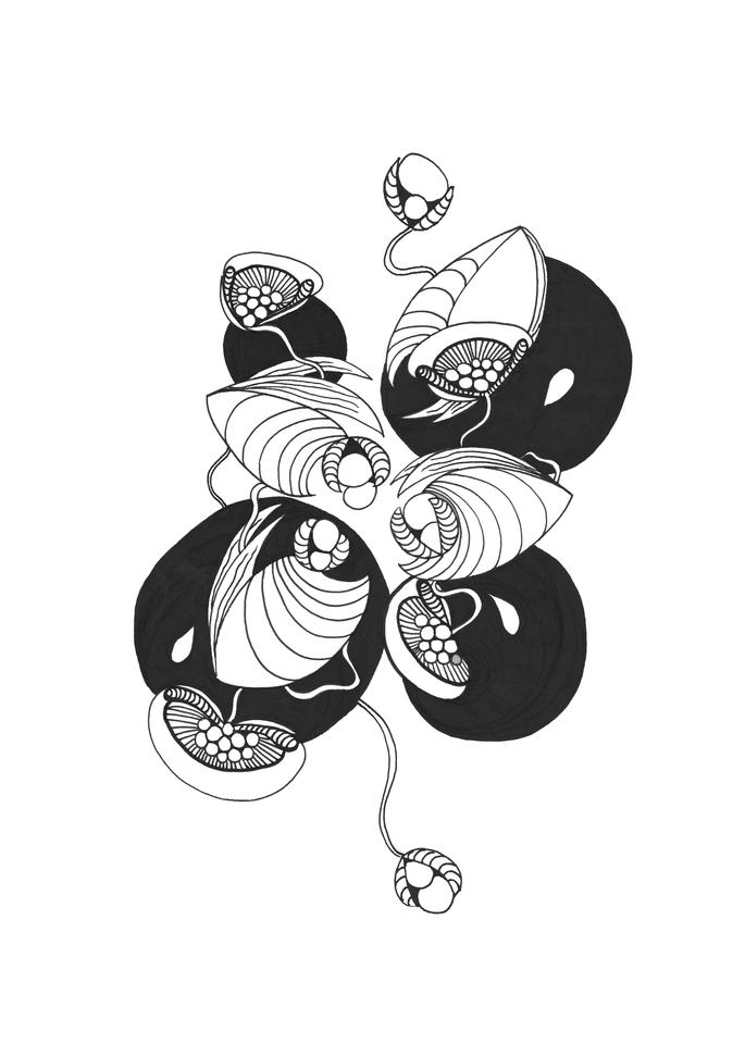 Pearl Vines Art | Sandy Smith Gerding Artwork