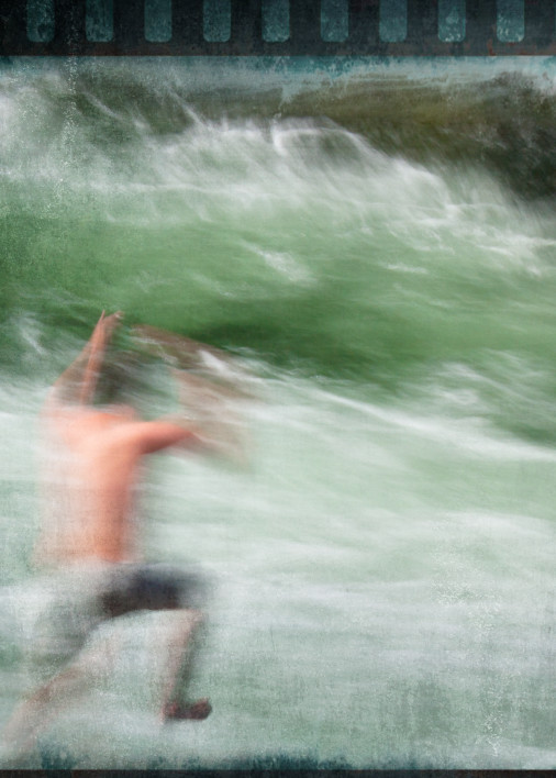Leap of Faith - Mossman Gorge, Daintree Rain Forest, QLD. Australia