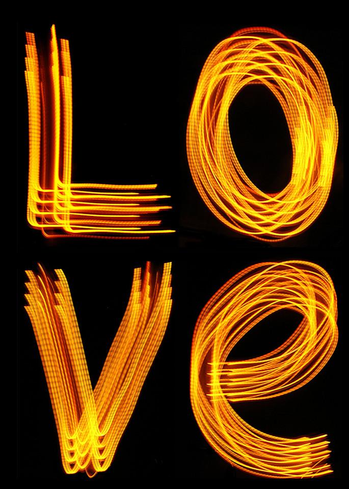Love Light Painting Photography Art | David Louis Klein