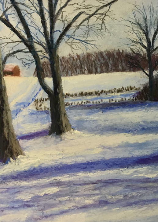 Winter Shadows Art | Mark Grasso Fine Art