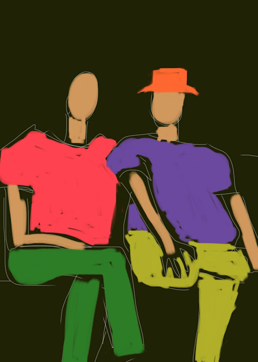 Couple Art   stephengerstman