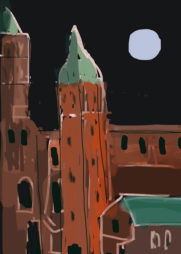Italy At Night Art   stephengerstman