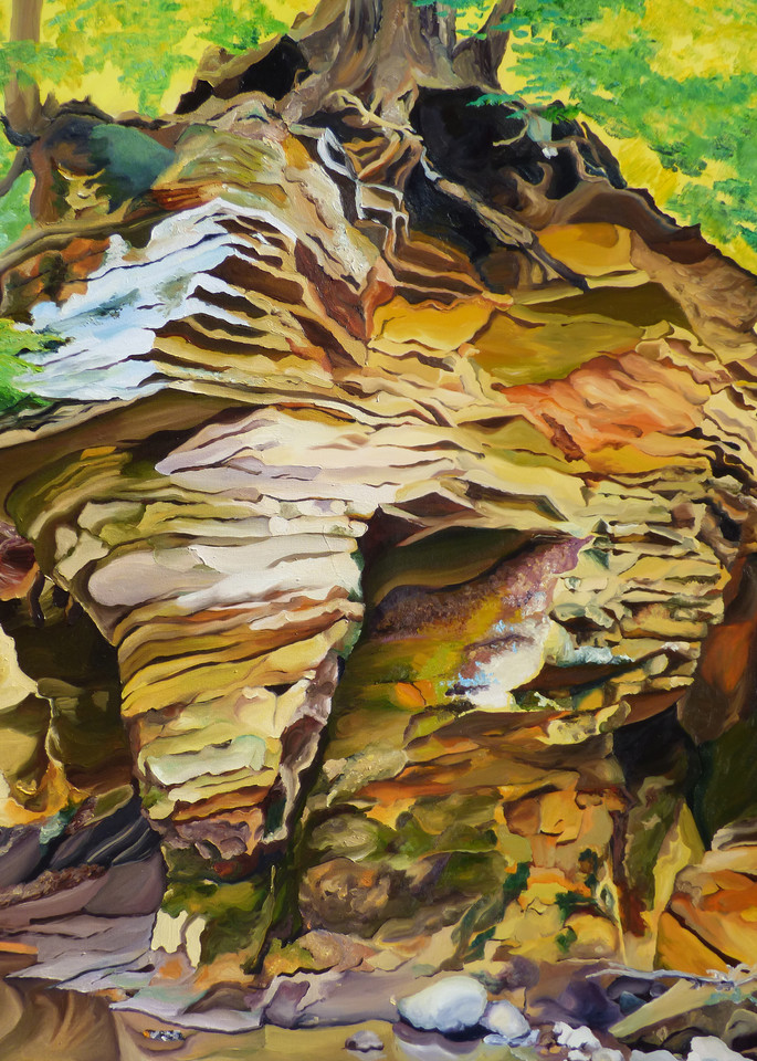 Hidden Ohio Paradise painting