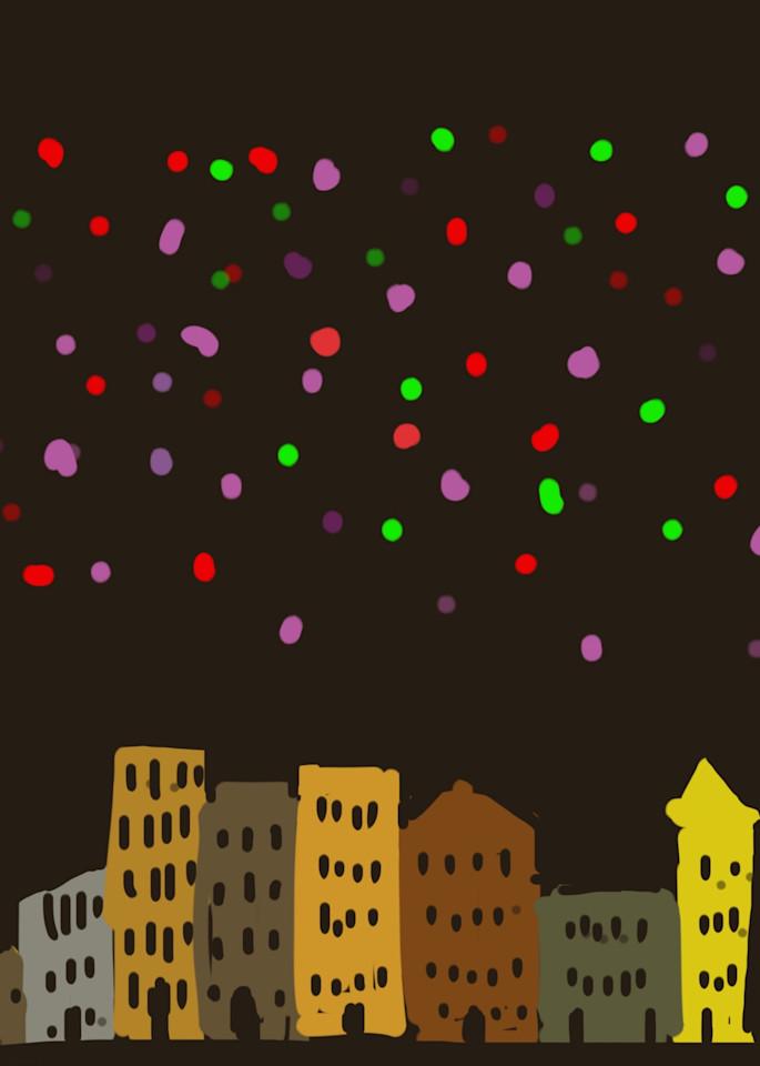 City At Night Art | stephengerstman