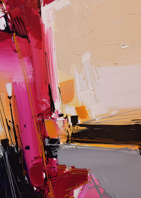 Magenta Fugue Art | Michael Mckee Gallery Inc.