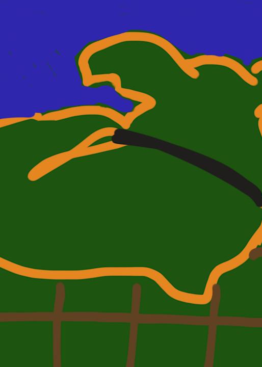 Buddy (Green) Art | stephengerstman