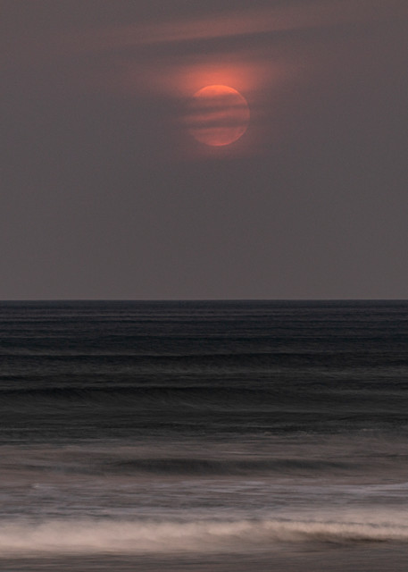 Moonset In Guiones Photography Art | Kit Noble Photography