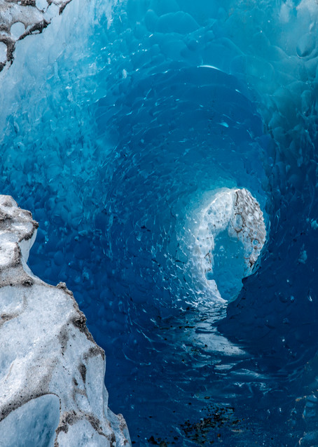 Glacier Ice Cave #1 Photography Art | Kit Noble Photography