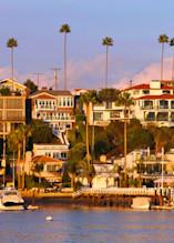 Corona Del Mar from Balboa Peninsula