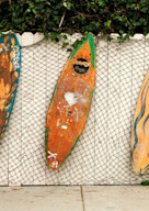 ventura vintage surboard panorama