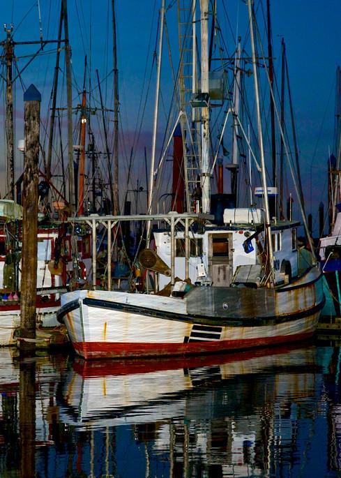 Fishing Boats At Dusk Charleston Oregon Art | Shaun McGrath Photography