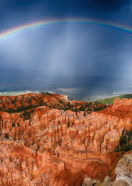 Bryce Rainbow Art | David J. West Gallery