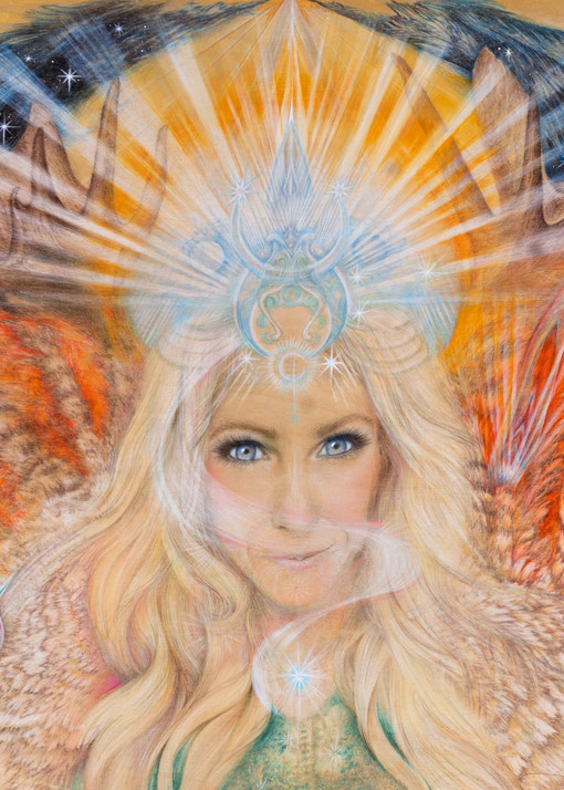 Lisa, Standing In Her Power! Art | Joan Marie Art