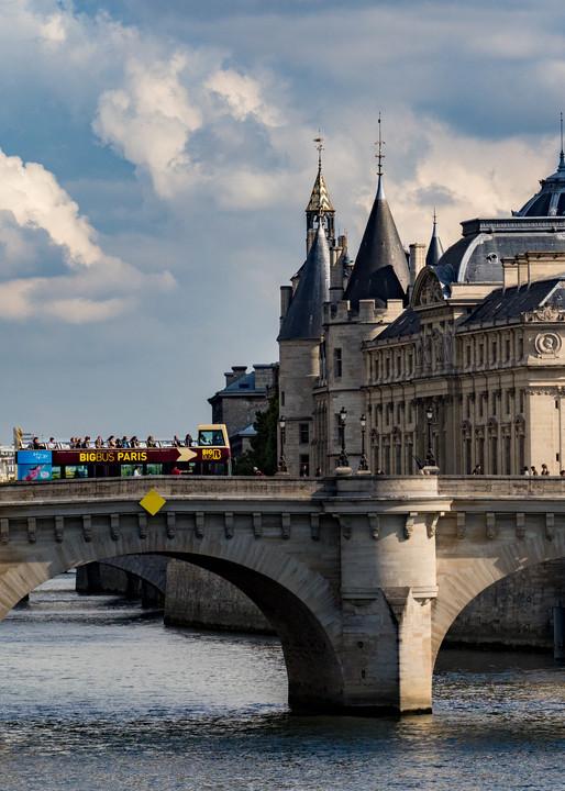 Bridge Over The Seine, Paris/sold by Ben Asen Photography