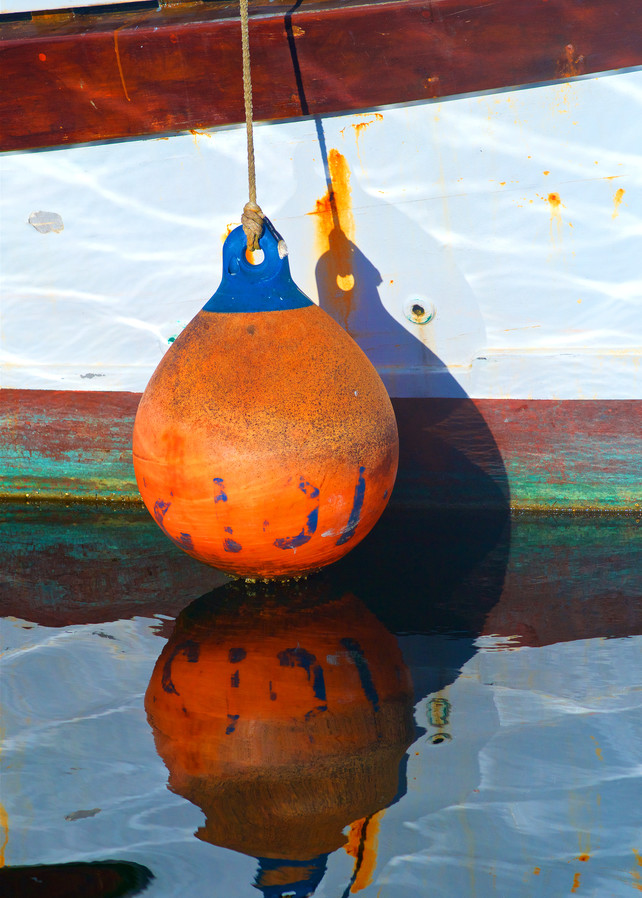 Boat Bumper Reflection Art | Shaun McGrath Photography