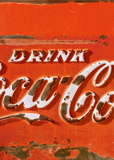 Coca Cola Sign Art   Shaun McGrath Photography