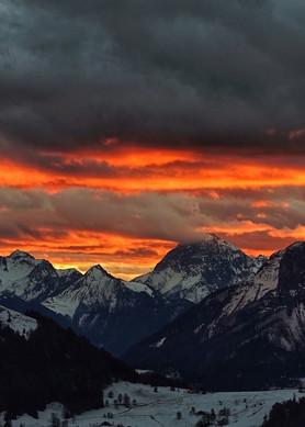 Swiss Skies Art   Danny Johananoff