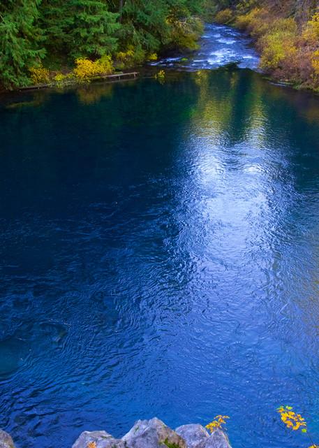Tamolitch Blue Pool Oregon Art   Shaun McGrath Photography