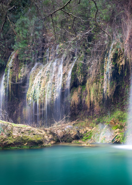 Turquoise Cascade Photography Art | Laura Tidwell Photography