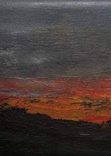 Santa Fe Sunset Art | Roost Studios, Inc.
