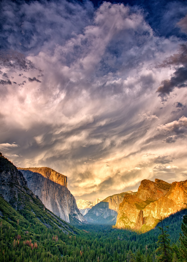 Gathering Clouds Over Tunnel View | Shop Photography by Rick Berk