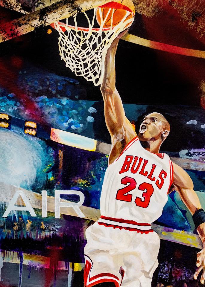 Michael Jordan. Open Edition Art | Cortney Wall Fine Art