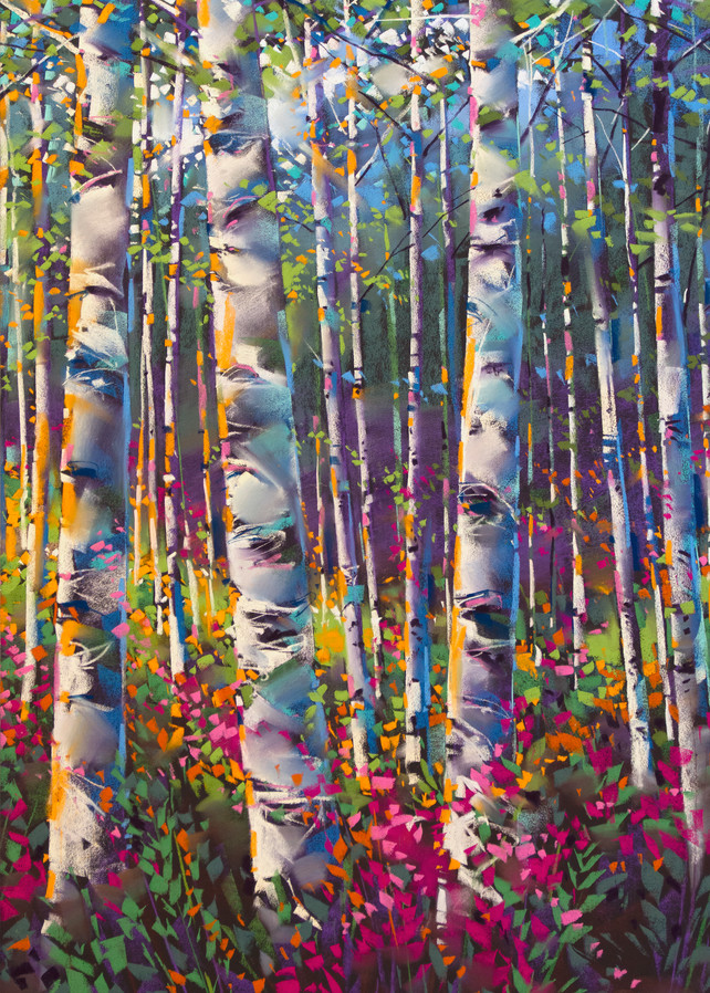 Aspen Highlands Summer Art | Michael Mckee Gallery Inc.