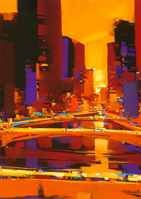 Bridges Of Gold Art | Michael Mckee Gallery Inc.