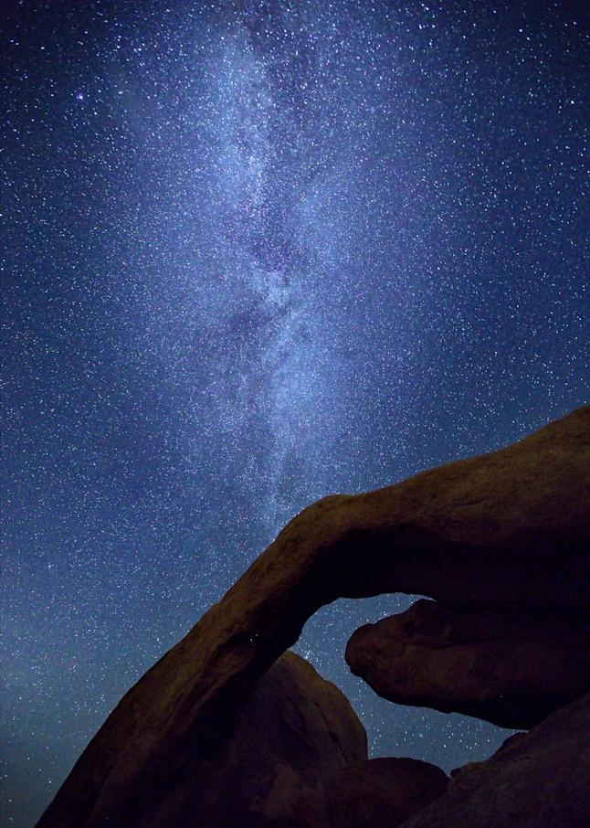 Milky Way Over Joshua Tree Art   Chad Wanstreet Inc